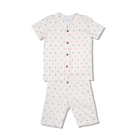 WALTER,IVORY,WITH,ANCHOR,PRINT,pajama, classic, boys