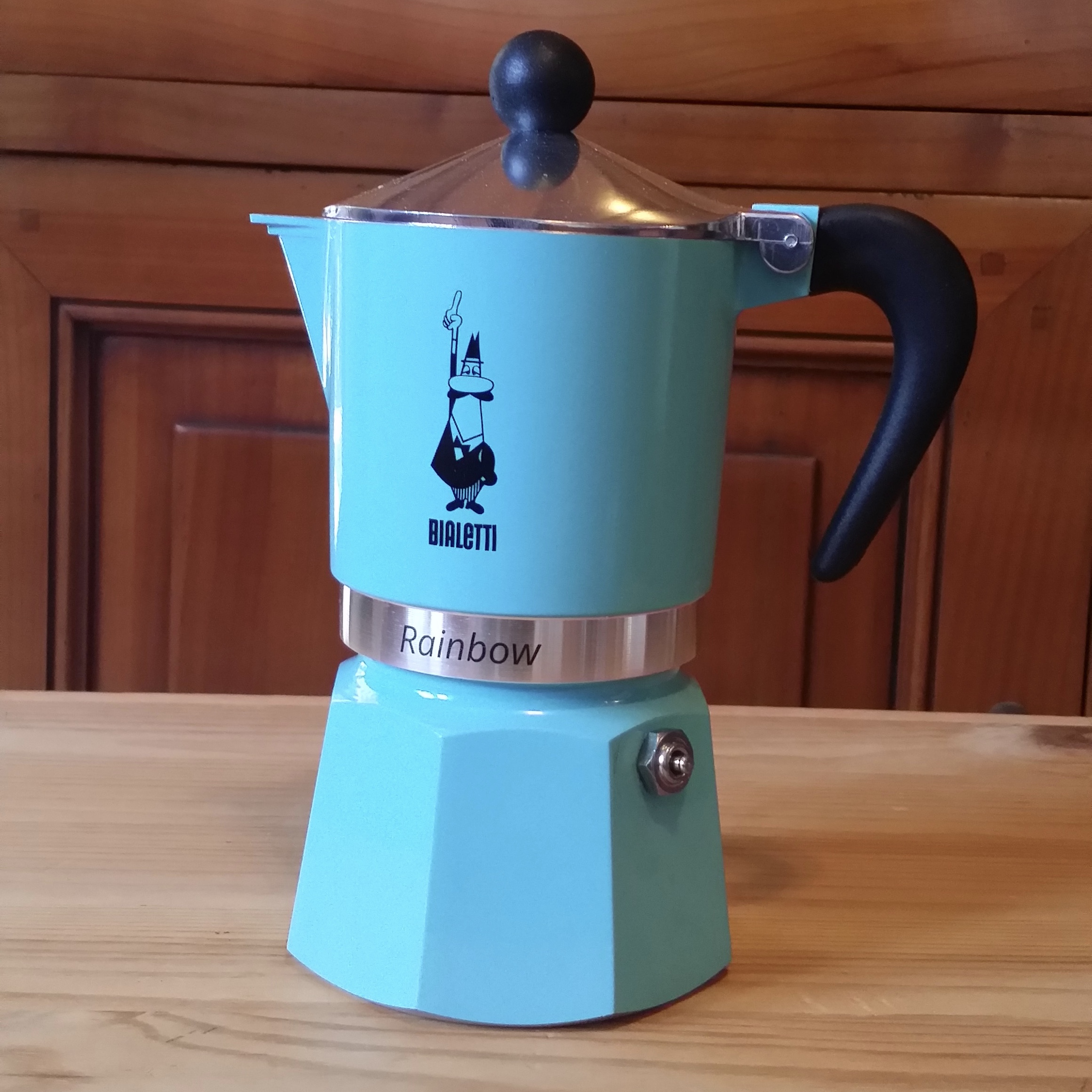 Bialetti Rainbow Moka light blue