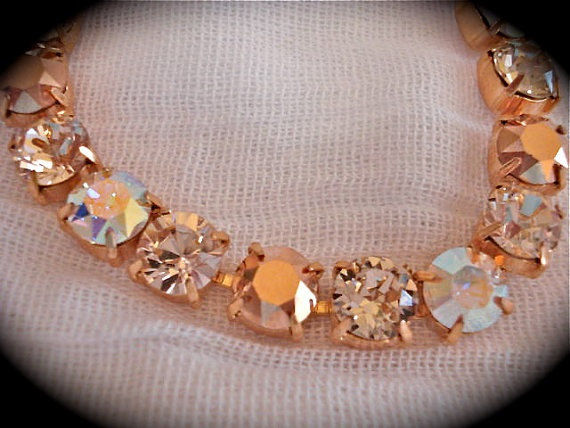 Rose Gold Bridesmaid Bracelet - product images  of