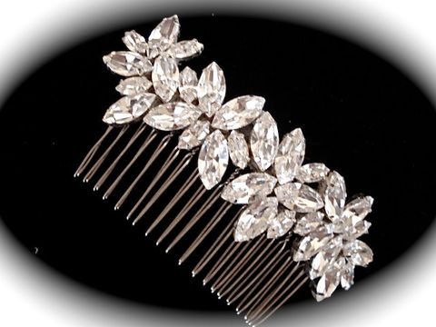 Crystal,Bridal,Comb,Bridal hair comb, Bridal hair piece, Wedding comb, bridal comb, crystal comb