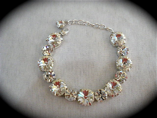 Crystal Chunky Bracelet - Swarovski - product images  of