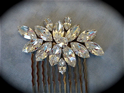 Small,Marquis,Crystal,Comb,-,Swarovski,bridal,comb,Weddings,Accessories,Hair,rhinestone_comb,bridesmaid_gift,bridal_comb,wedding_accessory,bridal_accessory,Swarovski_comb,Bridal_barrette,Bridal_hair_comb,Bridal_hair_brooch,Crystal_bridal_comb,Bridal_hair_jewel,Large_bridal_comb,Custom_bridal_comb,swarovsk