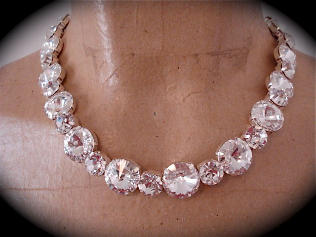 Crystal Rivoli Bridal Necklace - product images  of