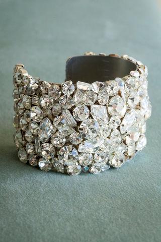 Clear Swarovski Crystal Wedding Bracelet - 2