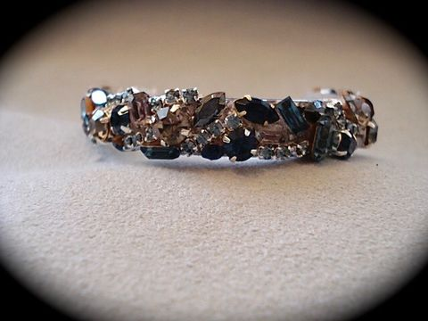 Navy,Blue,Silver,Swarovski,Crystal,Bridesmaid,Cuff,Swarovski crystal cuff, thin cuff, Navy blue cuff, blue Bracelet, statement_cuff, crystal_cuff,  rhinestone_cuff, bridesmaid_bracelet, wedding bracelet, bridesmaid cuff, dark blue bracelet, dark blue cuff, MOB jewelry, mother of the bride