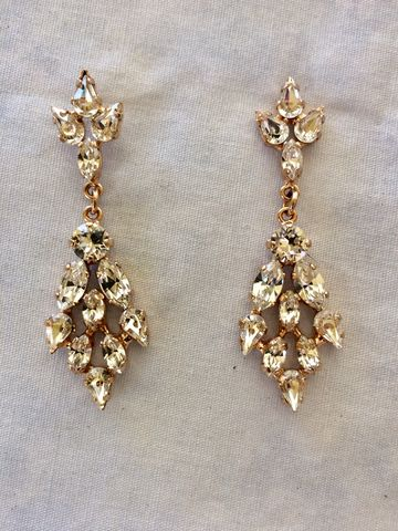Rose,Gold,Crystal,Chandelier,Bridal,Statement,Earrings,Rose gold earrings, Swarovski earrings, chandelier earrings, statement earrings, wedding earrings, bridal earrings, crystal statement earrings, bridal statement earrings, wedding statement earrings, wedding jewelry earrings, crystal earrings, wedding jewe