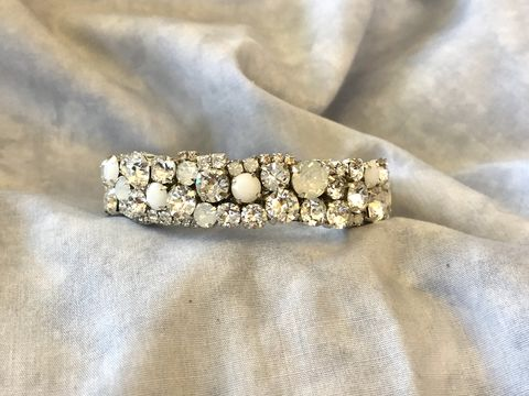 White,Opal,Alabaster,Crystal,Wedding,Cuff,-,1/2,inch,Weddings,Jewelry,Bracelet,Rhinestone_cuff,Crystal_cuff,Crystal_bangle,Wedding_cuff,bridal_bracelet,Bridesmaid_bracelet,Bridesmaid_cuff,black_crystal_cuff,silver_crystal_cuff,white_opal_cuff,black_cuff,swarovski_cuff,hematite_cuff,swarovski crystal,silver