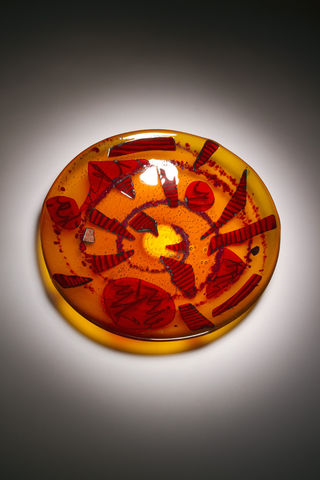 Fused,Art,Glass,Bowl,PR-03,MADE,TO,ORDER,art glass giftware