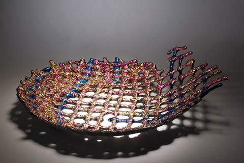 Fused,Art,Glass,Bowl,BL04,art glass giftware