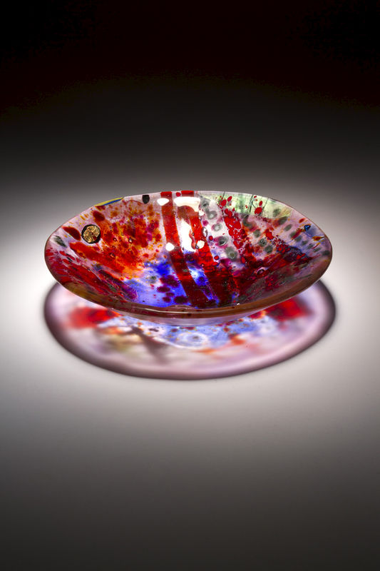 Fused Art Glass Bowl BS17 MADE TO ORDER - product images
