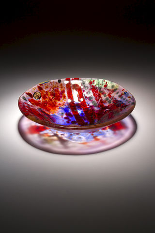 Fused,Art,Glass,Bowl,BS17,MADE,TO,ORDER,art glass giftware