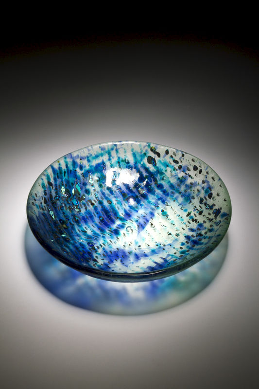 Fused Art Glass Bowl BS14 MADE TO ORDER - product images