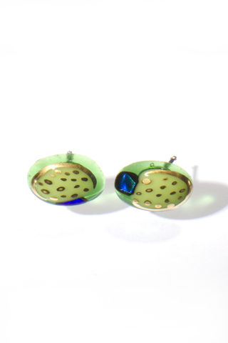 Fused,Art,Glass,Earrings,EA07,MADE,TO,ORDER,art glass giftware
