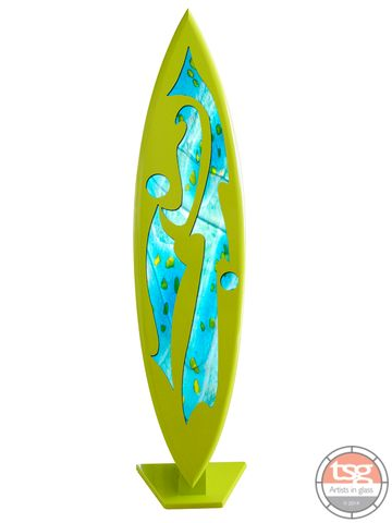 Art,Glass,Surfboard,02,fused glass, surfing, surfboards, Western Australian Art