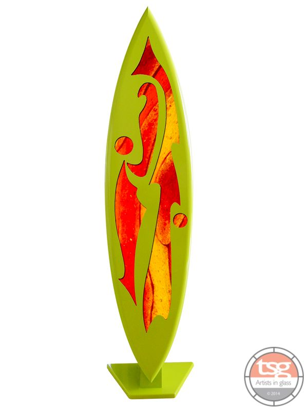 Art Glass Surfboard 03  MADE TO ORDER - product images