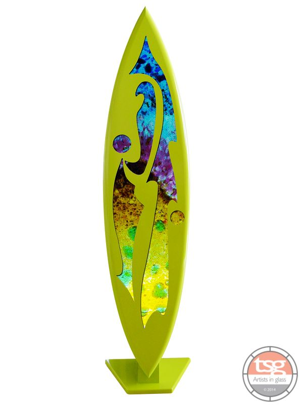 Art Glass Surfboard 04 - product images