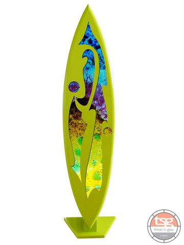 Art,Glass,Surfboard,04,MADE,TO,ORDER,fused glass, surfing, surfboards, Western Australian Art