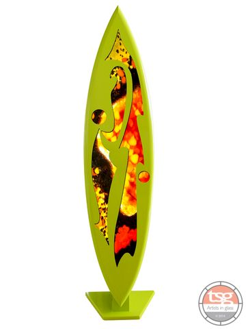 Art,Glass,Surfboard,06,MADE,TO,ORDER,fused glass, surfing, surfboards, Western Australian Art