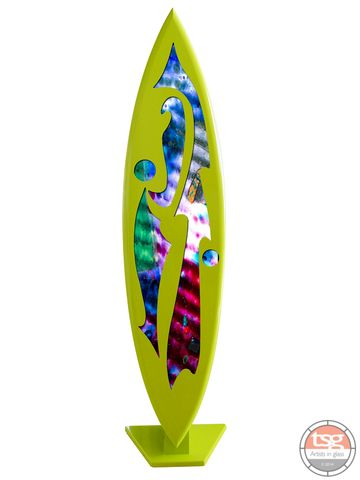 Art,Glass,Surfboard,08,fused glass, surfing, surfboards, Western Australian Art