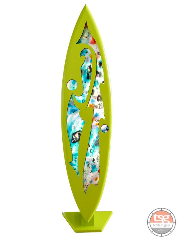 Art Glass Surfboard 12  MADE TO ORDER - product images