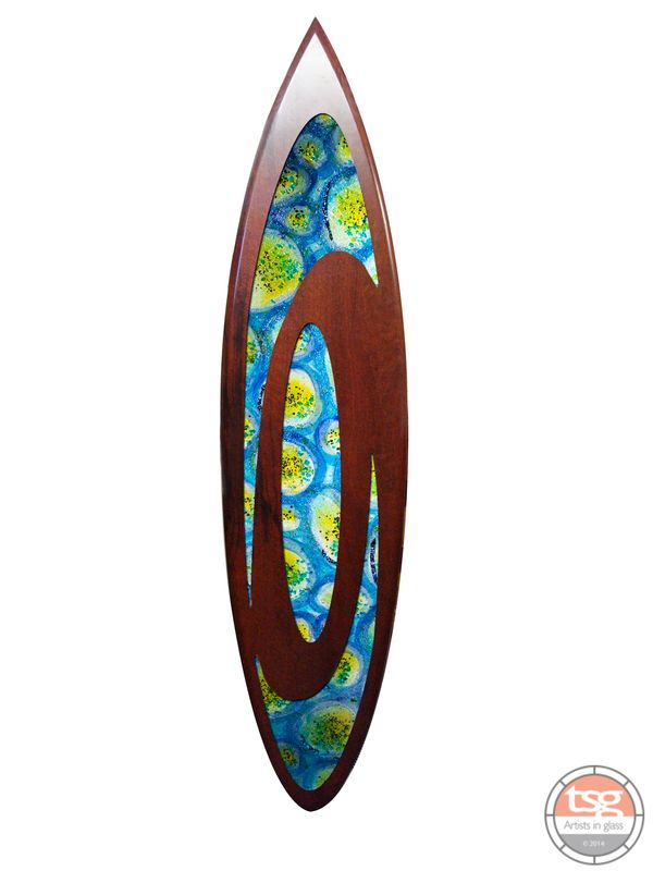 Art Glass Jarrah Surfboard 02 - product images