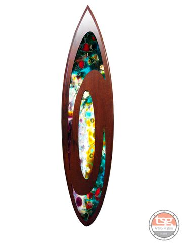 Art,Glass,Jarrah,Surfboard,10,fused glass, surfing, surfboards, Western Australian Art