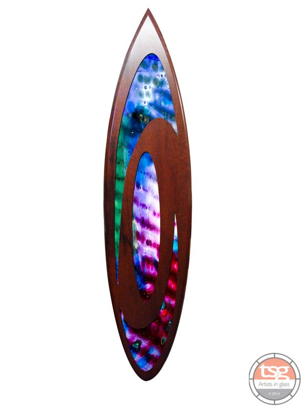 Art Glass Jarrah Surfboard 12 - product images