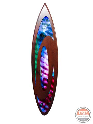 Art,Glass,Jarrah,Surfboard,12,fused glass, surfing, surfboards, Western Australian Art