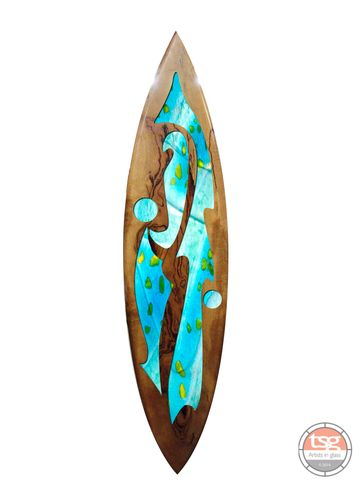 Art,Glass,Marri,Surfboard,05,fused glass, surfing, surfboards, Western Australian Art
