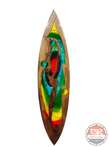 Art,Glass,Marri,Surfboard,10,fused glass, surfing, surfboards, Western Australian Art