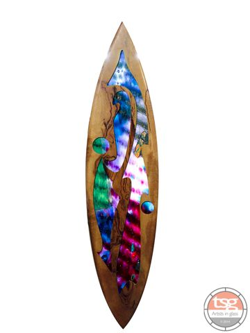Art,Glass,Marri,Surfboard,13,fused glass, surfing, surfboards, Western Australian Art