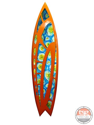 Art,Glass,Surfboard,17,fused glass, surfing, surfboards, Western Australian Art