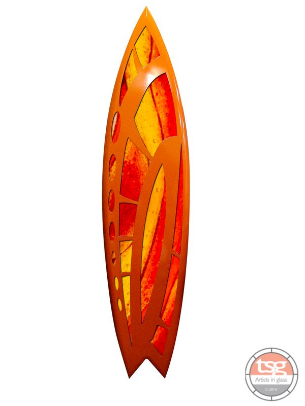 Art Glass Surfboard 19 - product images