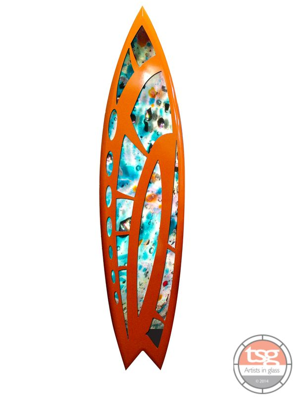 Art Glass Surfboard 21 - product images