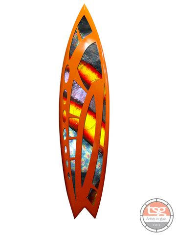 Art,Glass,Surfboard,24,fused glass, surfing, surfboards, Western Australian Art