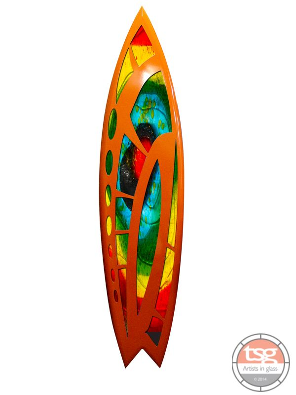 Art Glass Surfboard 25 - product images