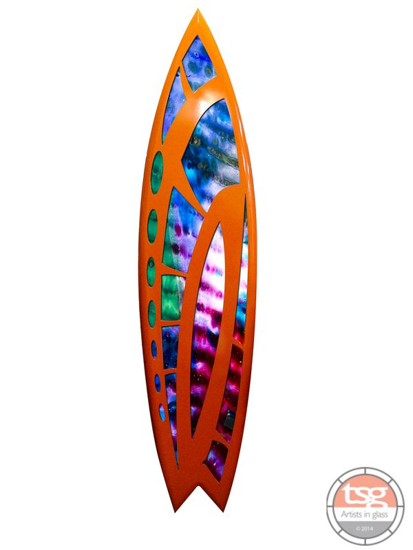 Art Glass Surfboard 26 - product images