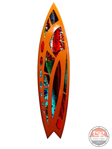 Art,Glass,Surfboard,29,fused glass, surfing, surfboards, Western Australian Art