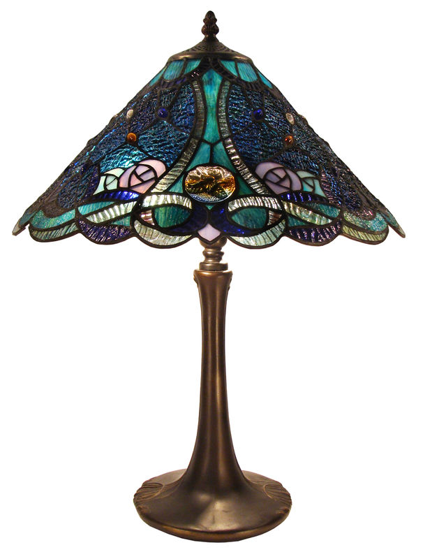 PALOMA BLUE TABLE LAMP - product images