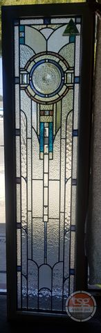 Classic,American,Art,Deco,Leadlight,stained glass, leadlight