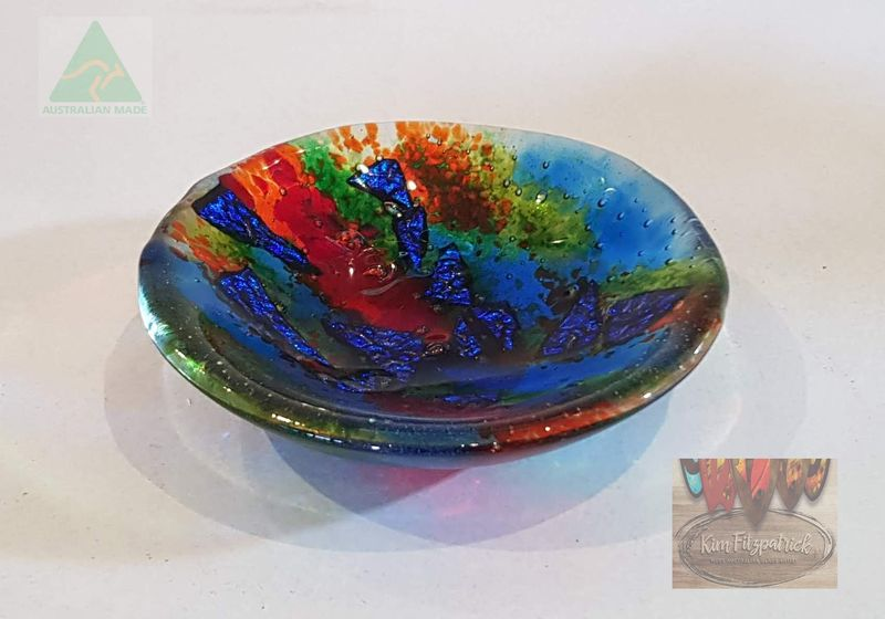 Fused Art Glass Bowl SB01 - product images