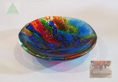 Fused,Art,Glass,Bowl,SB01