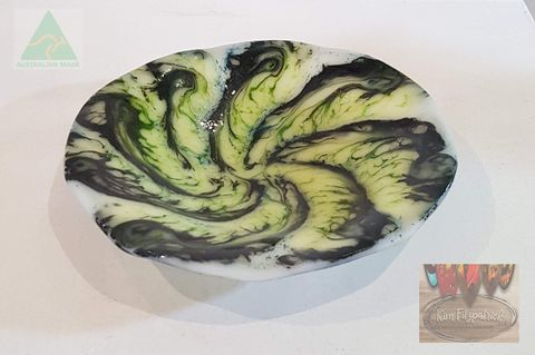 Fused,Art,Glass,Bowl,MB01