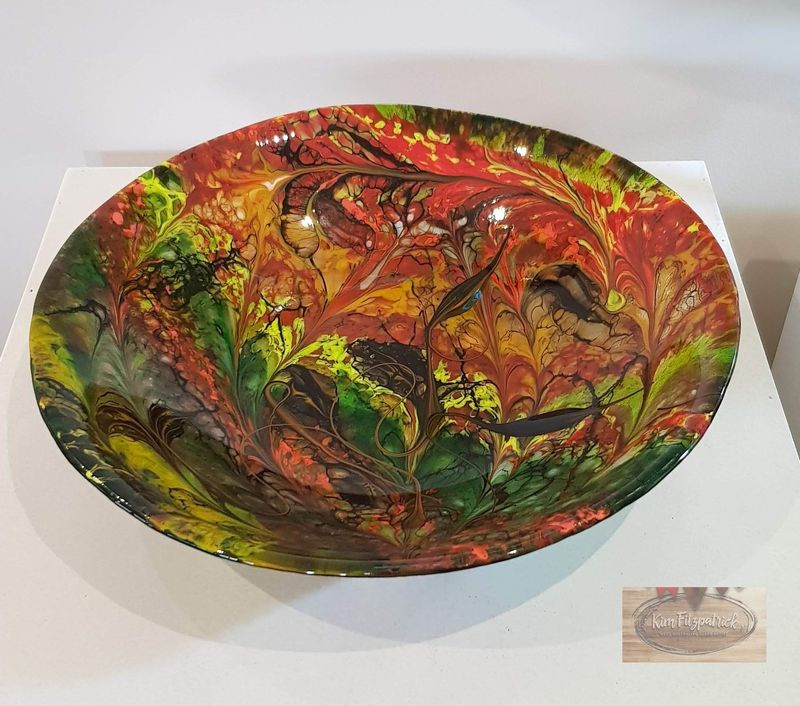 Fused Art Glass Bowl BL16 - product images
