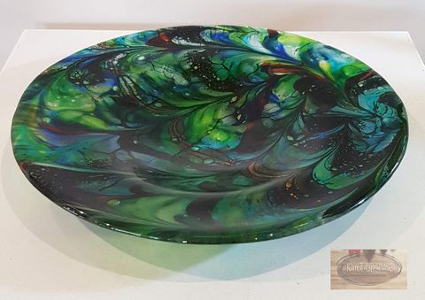 Fused,Art,Glass,Bowl,BL15,art glass giftware