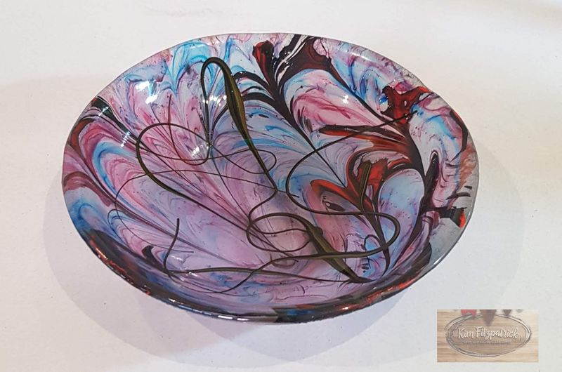 Fused Art Glass Bowl BM02 - product images