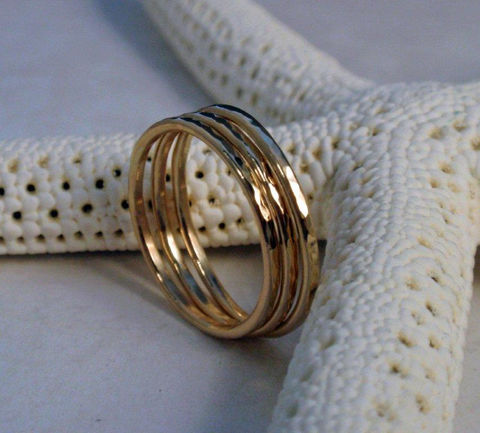 Gold,Stacking,Ring,Set,Stunning,14K,Hammered,Rings,Jewelry,14K_gold,skinny,stacking,set,hammered,circle,hammered_gold_ring,14K_gold_set,hammered_14K_gold,wedding_band,gold_stacking_ring,gold_band,14K_gold_band,14K gold wire