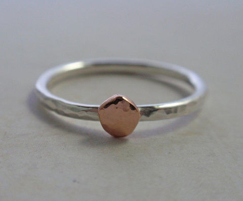 14K,Rose,Gold,and,Sterling,Silver,Ring,Band,Hammered,Stacking,Jewelry,14K_rose_gold,rose_gold_ring_band,rose_gold_ring,stacking_ring,sterling_silver_ring,gold_and_silver_ring,organic_pebble_ring,organic_ring,hammered_ring_band,silver_ring_band,stacker_ring,pink_gold_ring,14K_pink_gold,14K rose gold,sterlin