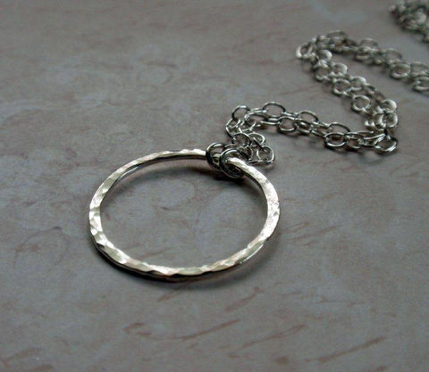 Silver,Eternity,Circle,Hoop,Necklace,Sweet,Hammered,Sterling,in,a,Large,size,Jewelry,Metal,eternity_hoop,eternity_circle,circle_necklace,hoop_necklace,silver_hoop,silver_circle,sterling_silver,sterling_circle_hoop,sterling_eternity,silver_eternity,hammered_hoop,hammered_circle,large_circle_hoop,sterling silver wire,sterli