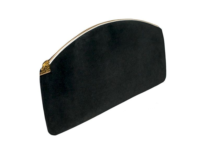 Cotton Velvet Lily Evening Clutch - product images  of